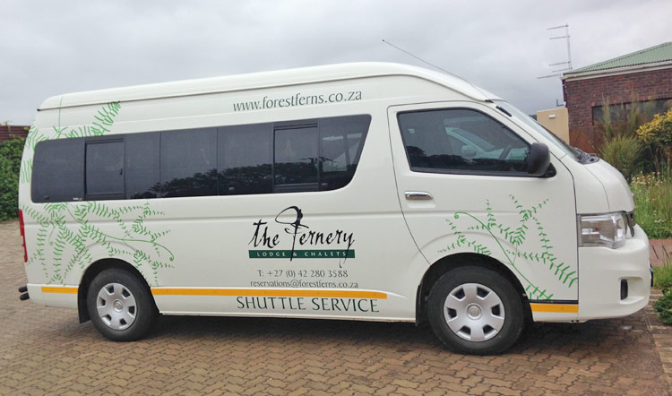 Forest Ferns Shuttle Service